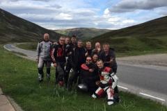 De snellere groep in Schotland 2016