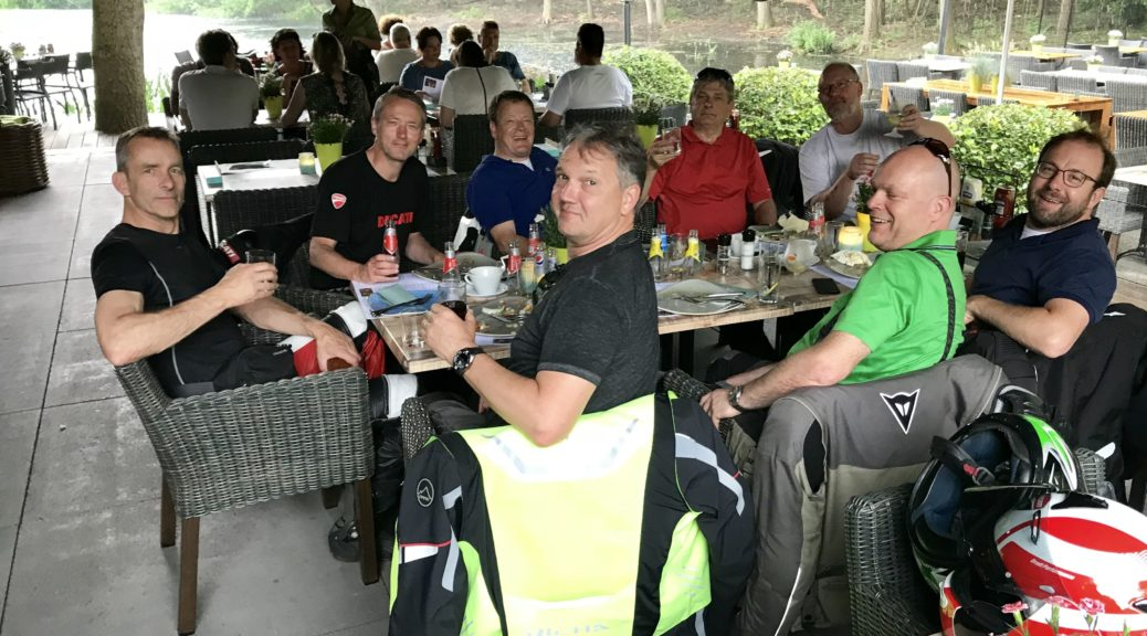 2018 ride out lunch